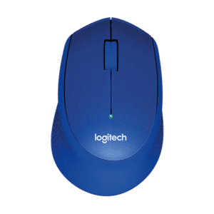 Logitech M330 Silent Plus Wireless Mouse - Blue