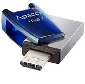 Apacer AH179 64GB USB 3.1 Mobile Flash Drive (OTG)
