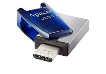 Apacer AH179 64GB USB 3.1 Mobile Flash Drive (OTG)