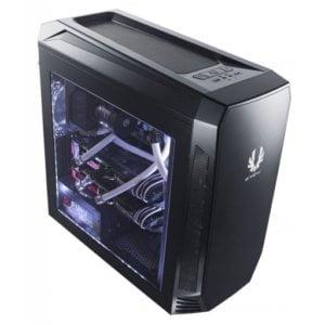 BitFenix AEG-300-KKWL1 Aegis Black Windowed Side Panel Icon Display Micro-ATX Gaming Chassis
