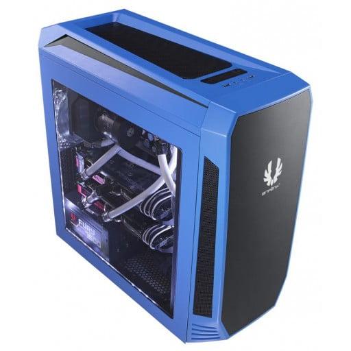 BitFenix Aegis Blue Windowed Side Panel Micro-ATX Gaming Chassis