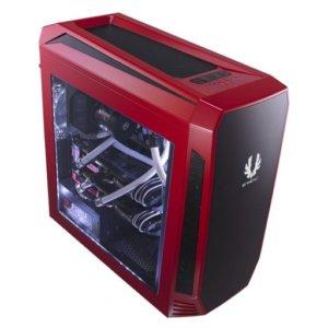 BitFenix AEG-300-RKWL1 Aegis Red Windowed Side Panel Icon Display Micro-ATX Gaming Chassis