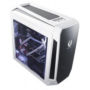 BitFenix AEG-300-WKWL1 Aegis White Windowed Side Panel Icon Display Micro-ATX Gaming Chassis