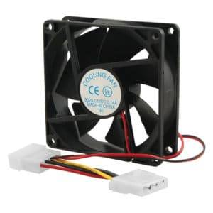 CHASSIS FAN 80MM BLACK
