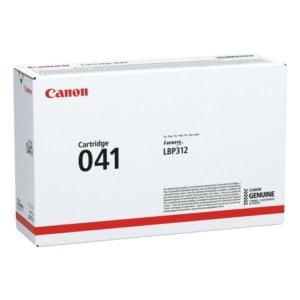 Canon 041 LBP312 Black Original Laser Toner Cartridge