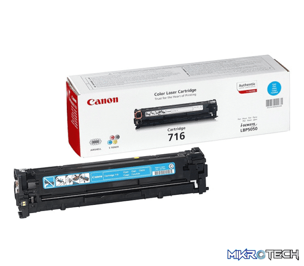 Canon 716 Cyan Toner, 1500pages