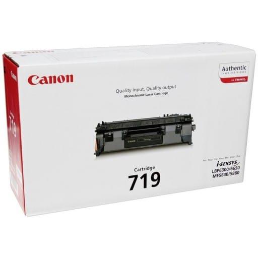 Canon 719 LBP253x Black Original Laser Toner Cartridge