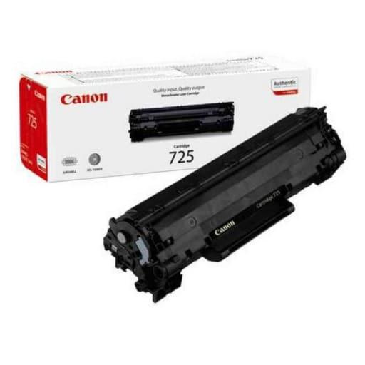 Canon 725 Black 1600 Pages Toner Cartridge