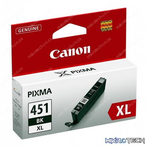 Canon CLI-451BK Black XL 680p Ink Cartridge
