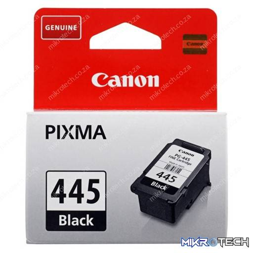 Canon PG-445 black - 180pages - for pixma MG2440, MG2540, MG2940, iP2840, MX494
