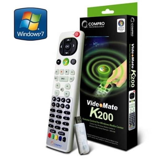 Compro K200 Remote Control for Windows Media Center