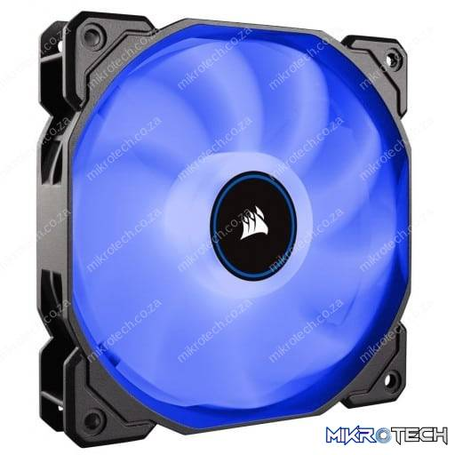 Corsair AF Series AF120 LED Low Noise Blue Case Fan - 2018 Edition
