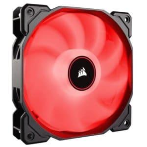 Corsair AF Series AF120 LED Low Noise Red Case Fan - 2018 Edition