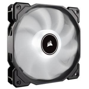Corsair AF Series AF120 LED Low Noise White Case Fan - 2018 Edition