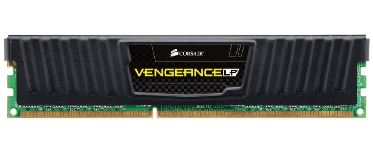 Corsair Black 8GB LP CL 10 DDR3-1600 240pin Desktop Memory