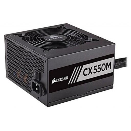 Corsair CP-9020102 CX550M 550W 80 Plus Bronze Certified Semi-Modular Desktop Power Supply