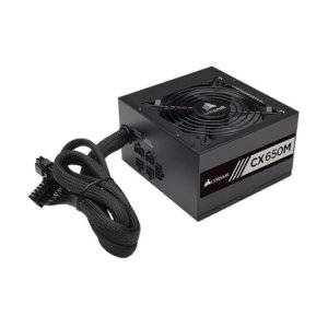 Corsair CP-9020103 CX650M 650W 80 Plus Bronze Certified Semi-Modular Desktop Power Supply