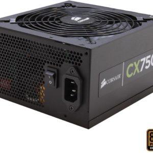 Corsair CX750 750W 80 Plus Bronze Certified Desktop Power Supply