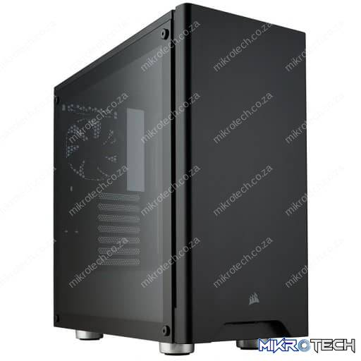 Corsair Carbide Series 275R Black Tempered Glass ATX Mid Tower Desktop Chassis