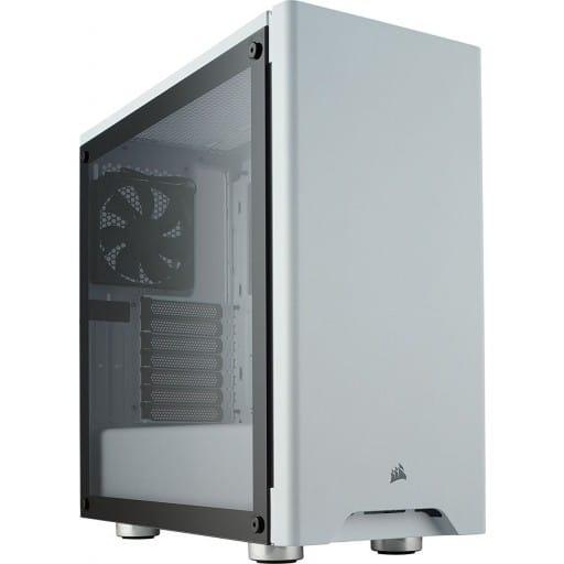 Corsair CC-9011133-WW Carbide Series 275R White Tempered Glass ATX Mid Tower Desktop Chassis