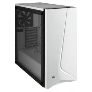 Corsair CC-9011145 Carbide Series SPEC-06 White Tempered Glass ATX Mid?Tower Desktop Chassis