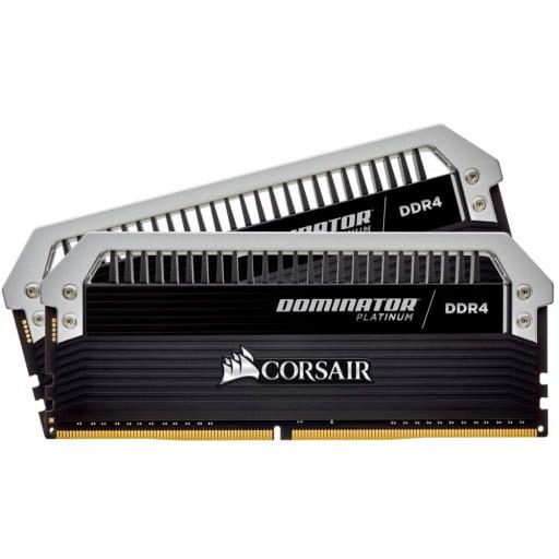 Corsair CMD16GX4M2B3466C16 Dominator Platinum 16GB (2x8GB) DDR4-3466MHz CL16 1.35V 288-Pin Black Desktop Memory