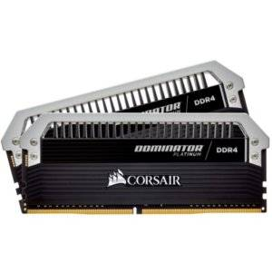 Corsair Dominator Platinum 16GB (2x8GB) DDR4-3866MHz CL18 1.35V 288-Pin Black Desktop Memory