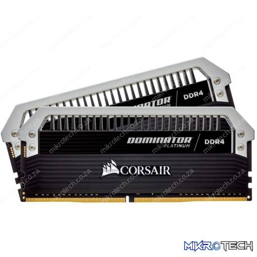 Corsair CMD16GX4M2B3866C18 Dominator Platinum 16GB (2x8GB) DDR4-3866MHz CL18 1.35V 288-Pin Black Desktop Memory
