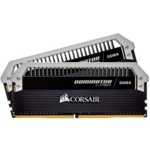 Corsair CMD16GX4M2E4000C19 Dominator Platinum 16GB (2x8GB) DDR4-4000MHz CL19 1.35V 288-Pin Black Desktop Memory