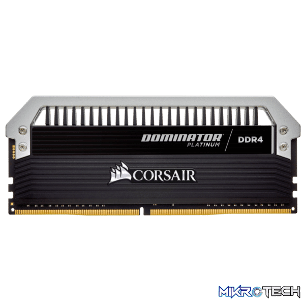 Corsair CMD32GX4M4A2666C15 Dominator Platinum 32GB (8GBx4) DDR4-2666MHz CL15 1.2V Desktop Memory