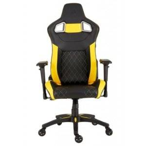 Corsair CF-9010015 T1 Race Black and Yellow Gaming Chair - 2018 Edition