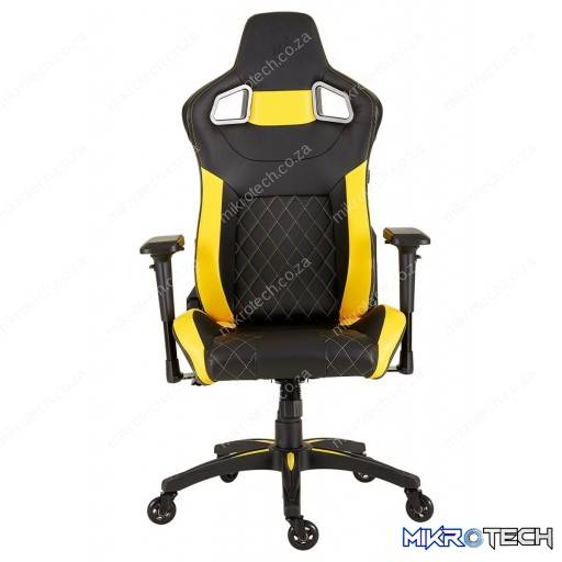 Corsair T1 Race Black and Yellow Gaming Chair - 2018 Edition