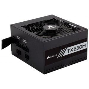 Corsair CP-9020132 TX-M Series TX650M 650W 80 Plus Gold Certified Semi-Modular Desktop Power Supply