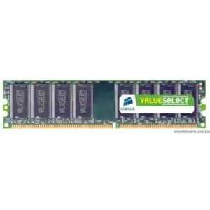 Corsair VS2GB1333D3 Value Select 2GB DDR3-1333 Desktop Memory - Retail