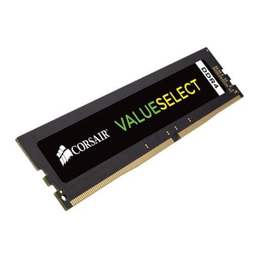 Corsair CMV8GX4M1A2133C15 Value Select 8GB (1x8GB) DDR4-2133MHz CL15 1.2V 288-Pin Black Desktop Memory