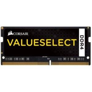 Corsair CMSO8GX4M1A2133C15 Value Select 8GB (1x8GB) DDR4-2133MHz CL15 1.2V Black Notebook Memory