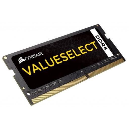 Corsair CMSO16GX4M1A2133C15 ValueSelect 16GB (1 x 16GB) 2133MHz DDR4 CL15 SODIMM 260Pin 1.2V Notebook Memory