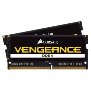 Corsair Vengeance 32GB (2x16GB) DDR4-2400MHz CL16 1.2V Black Notebook Memory