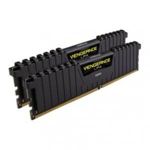 Corsair CMK16GX4M2A2666C16 Vengeance LPX 16GB (2x8GB) 2666MHz DDR4 CL16 1.2V Desktop Memory
