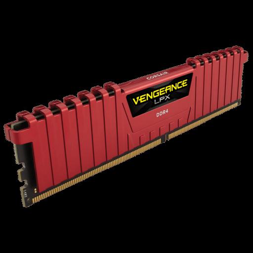 Corsair CMK16GX4M2A2400C14R Vengeance LPX 16GB (2x8GB) DDR4 2400MHz 1.2V C14 Dual / Quad Channel Desktop Memory