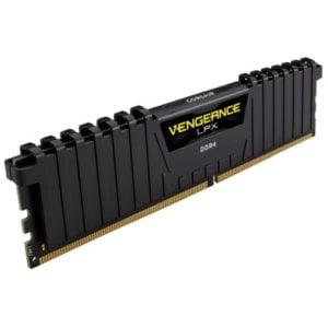 Corsair CMK8GX4M1A2666C16 DDR4 Vengeance LPX 8GB (1x8GB) 2666MHz DDR4 CL16 1.2V Desktop Memory