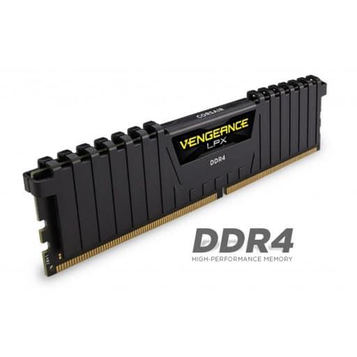 Corsair CMK8GX4M2A2133C13 Vengeance LPX 8GB (2x4GB) 2133MHz DDR4 CL13 1.2V Desktop Memory