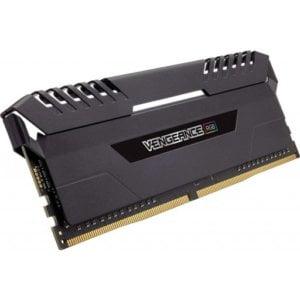 Corsair CMR16GX4M2A2666C16 Vengeance RGB 16GB (2x8GB) DDR4-2666MHz CL16 1.2V 288-Pin Black Desktop Memory