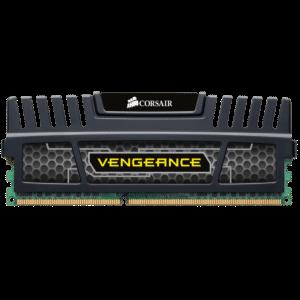 Corsair Vengeance With Black Heatsink 4GB DDR3-1600 CL9 1.5v Desktop Memory