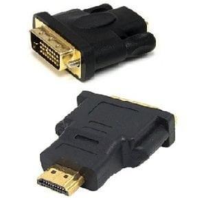 DVI (24+1) MALE TO HDMI MALE ADAPTER