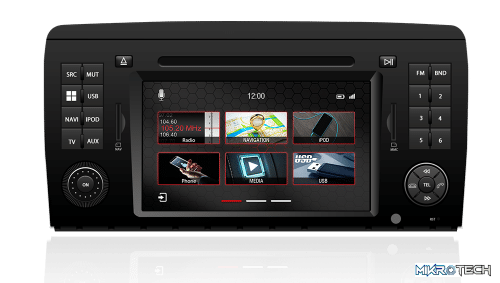 Dynavin N7-MBR Mercedes-Benz series 7? Touch Screen LCD Multimedia Navigation System