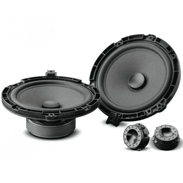 "Focal ISPSA165 Custom Fit 6.5""2 Way Component Speaker 240W for Peugeot"