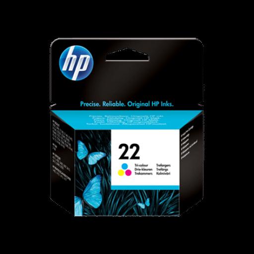 HP C9352AE 22 Tri-color Original Ink Cartridge