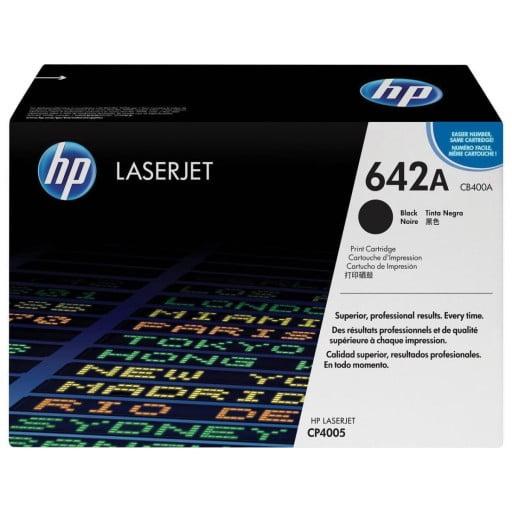 HP CB400A 642A Black Original LaserJet Toner Cartridge