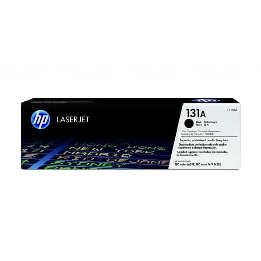 HP CF210A 131A Black Original Laser Ink Cartridge